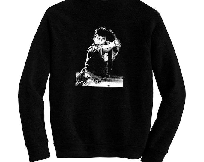 Toshiro Mifune - Pre-shrunk, hand screened ultra soft 80/20 cotton/poly sweatshirt - Kurosawa