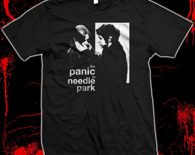 The Panic In Needle Park - Al Pacino - Hand screened, Pre-shrunk 100% cotton t-shirt