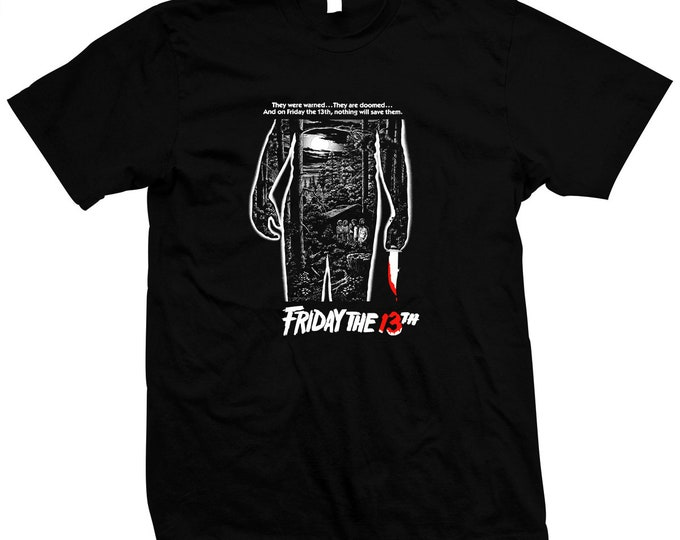 Friday The 13th - Jason Voorhees - Pre-shrunk, hand screened 100% cotton t-shirt