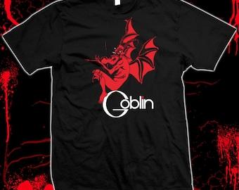 GOBLIN - Progressive Rock, Giallo, Italian Horror, Pre-shrunk, hand screened, 100% cotton t-shirt