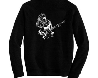 "Lemmy"" Kilmister - Pre-shrunk, hand screened ultra soft 80/20 cotton/poly sweatshirt - Motörhead"