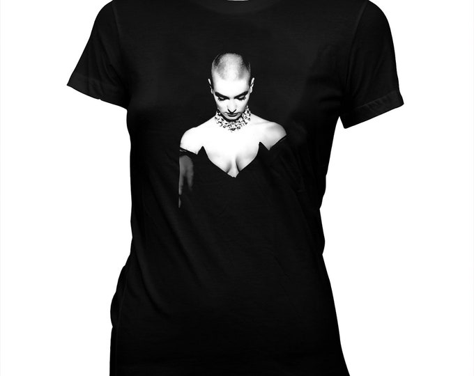 Sinead O'Connor - Hand Silk-screened, Pre-shrunk 100% cotton T-Shirt