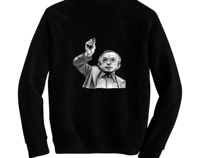 The Man From Another Place - Pre-shrunk, hand screened ultra soft 80/20 cotton/poly sweatshirt - Michael J. Anderson