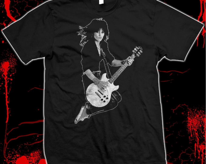 Joan Jett - The Runaways - Blackhearts - Pre-shrunk, hand screened 100% cotton t-shirt
