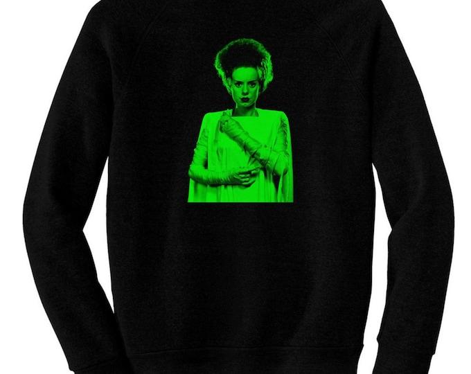 Bride of Frankenstein, The - Pre-shrunk, hand screened ultra soft 80/20 cotton/poly sweatshirt - Elsa Lanchester