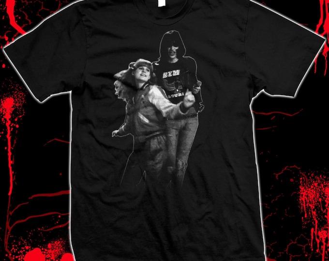 Rock 'n' Roll High School - The Ramones, PJ Soles cult movie Pre-shrunk, hand screened 100% cotton t-shirt