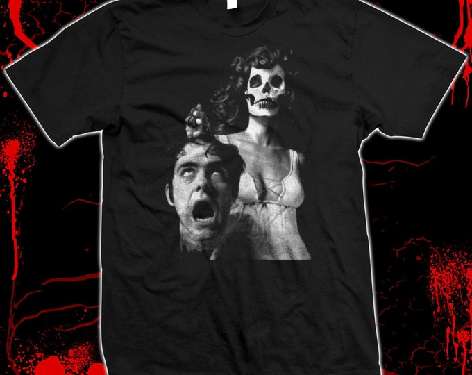 The Night Evelyn Came Out Of The Grave - Hand screened, Pre-shrunk 100% cotton t-shirt