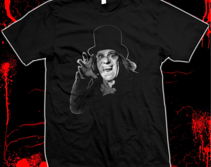 Lon Chaney - London After Midnight - Hand Screened, Pre-shrunk 100% cotton t-shirt