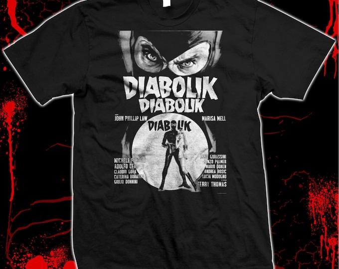 Danger Diabolik - Mario Bava - '60s Mod - Pre-shrunk hand screened 100% cotton t-shirt