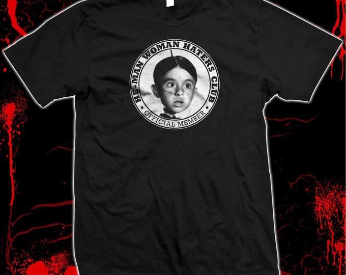 Our Gang - Alfalfa - He-Man Woman Haters Club - Hand screened, Pre-shrunk 100% cotton t-shirt