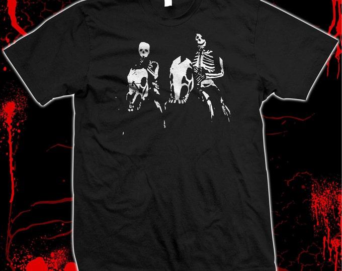Night Creatures - Pre-shrunk, hand screened 100% cotton t-shirt Misfits - Danzig - Captain Clegg