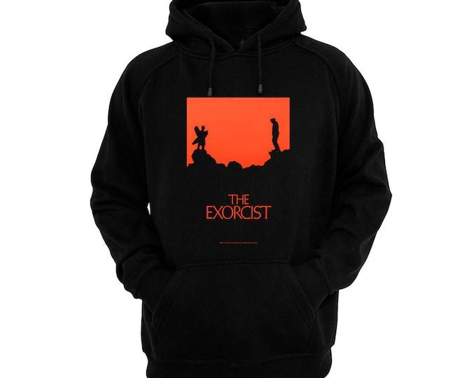 The Exorcist - Pazuzu - Hand silk-screened, pre-shrunk cotton blend pullover hoodie