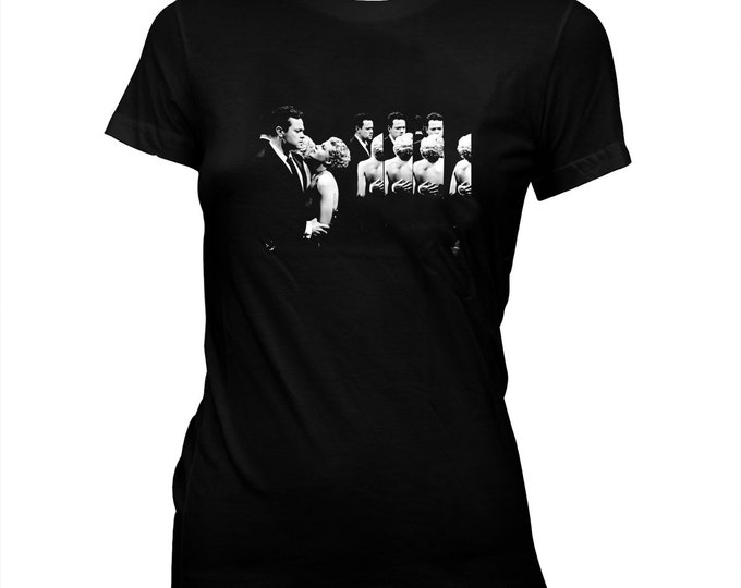 The Lady From Shanghai - Orson Welles - Pre-shrunk, Women's Hand-Screened 100% Cotton T-Shirt