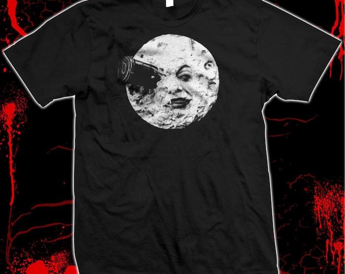 A Trip To The Moon - Georges Méliès - Hugo - Pre-shrunk 100% cotton t-shirt