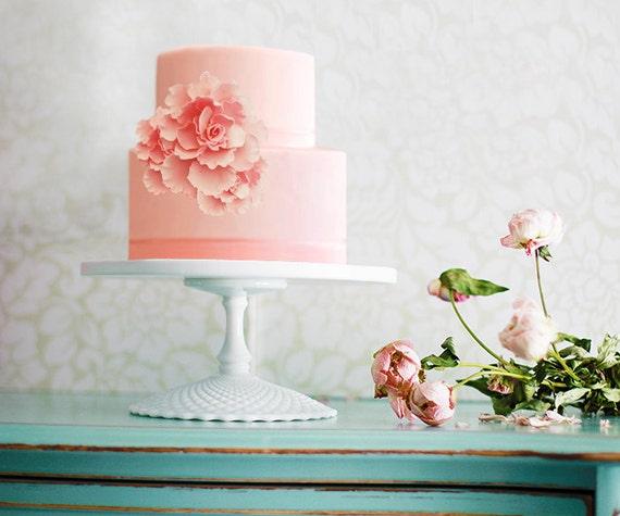 Inexpensive Wedding Cake Ideas: Cheap Cake Stand / Budget Wedding Cake Stand