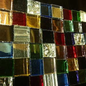 GUNMETAL GRAY MIRROR Stained Glass Sheet Supply M30 Special Price