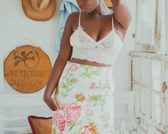 Aria In The Garden Statement Skirt by Restored By Design