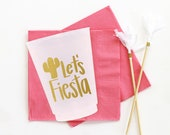 Fiesta Cups Birthday Party Plastic Cups Mexican Themed Cups Let 39 s Fiesta Party Supplies Bachelorette Party Cups Cinco De Mayo Decorations