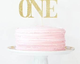 1st Birthday Cake Topper Gold Glitter Number Name Cake Topper Girl Birthday Cake Decorations Gold Glitter Party Supplies Smash Cake Topper