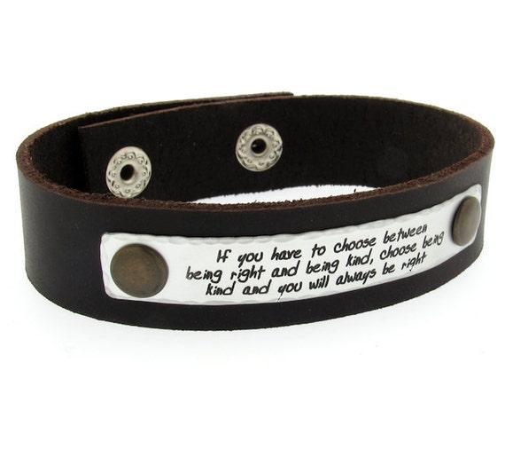Citation de Bracelet pour homme   cadeau pour lui père mari   Etsy ce2406f0bf4
