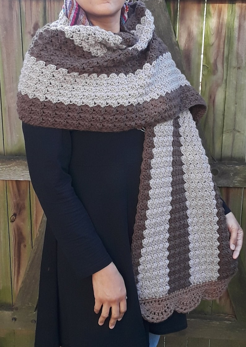 Chocolate Cake Mega Shawl  Fall/Winter Collection 2020 image 0