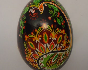 Real Ukrainian Easter Egg. Pysanka by Oleh Kirashchuk. Chicken Egg. #7