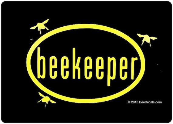 Beekeeping Sticker Beekeeper Euro Car Sticker Bee Sticker Etsy