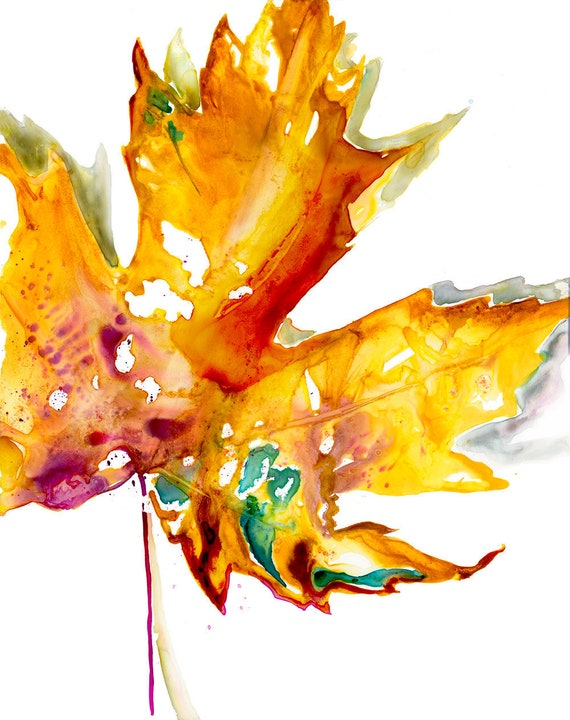photo relating to Autumn Leaves Printable identified as Autumn Maple Leaf Printable Watercolor Artwork [Autumn Leaf Printable Autumn Leaf Artwork Maple Leaf Artwork Printable Autumn Leaves Decor Maple Leaf]