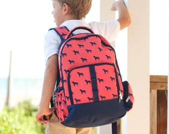 Boys Backpack Personalized 4fac7071eea30