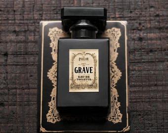 Grave Perfume - Eau De Toilette - Patchouli Cedar Rose Pine Vanilla