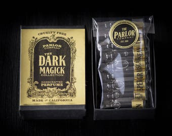 Dark Magick Collection Perfume Set - The Parlor Apothecary - 1 ml each