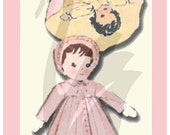 Vintage Night Day Topsy Turvy Doll Sewing Pattern 7121