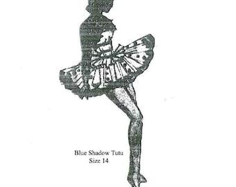Vintage Ladies Ballet Tutu Sewing Pattern Size 14 PDF