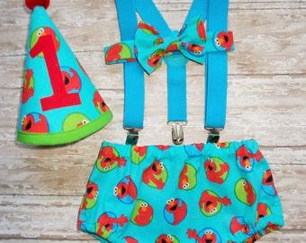 Birthday Cake Smash outfits Mickey I am one Necktie by