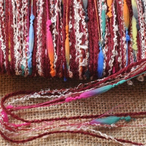 Knitting Art Yarn Mixed Media embroidery couching Felting needlepoint Textile Art Art Supplies Weaving Doll Hair Crochet Spinning