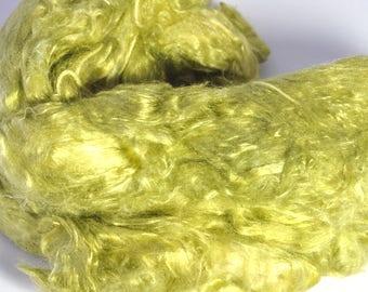 Mulberry Silk - Hand Dyed Silk - A Grade Mulberry Silk - Silk for Spinning - Silk for Felting