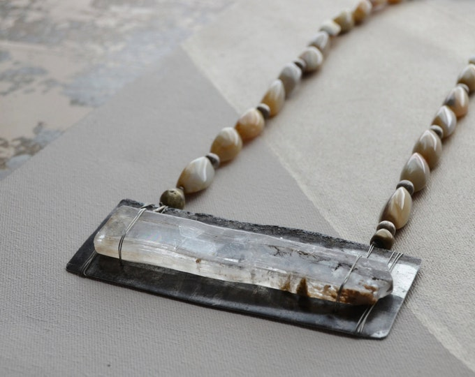 A Closer Look, Tribal necklace Chakra 7