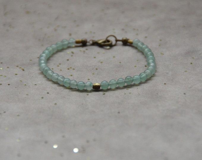 Tribal Chakra Bracelet- Jade Quartz