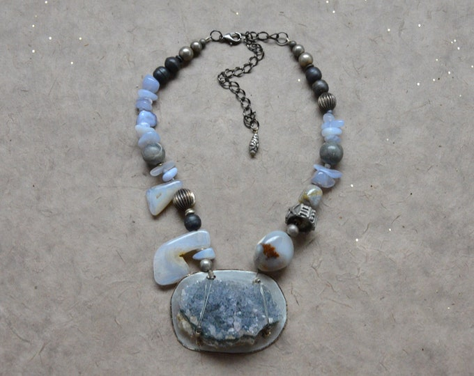"The ""Sparkle & Shine"" Necklace, Chakra 7"