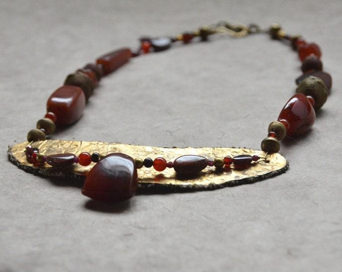 SOLDTribal  Goddess Necklace, Chakra One