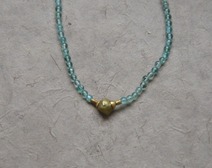 Tribal Chakra Necklace - Apatite