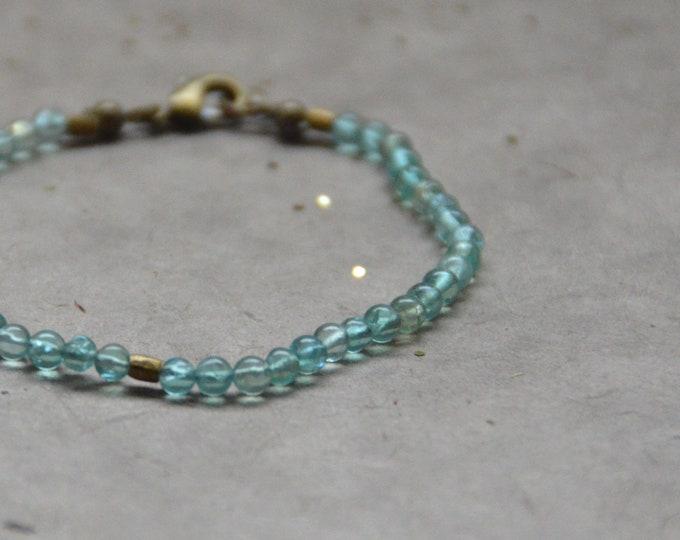 Tribal Chakra Bracelet- Apatite