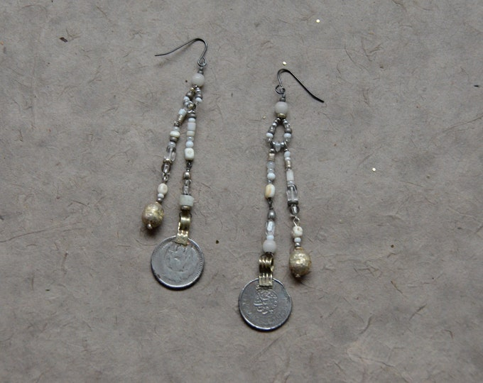 "The ""Free Spirit"" Earrings, Chakra 7"