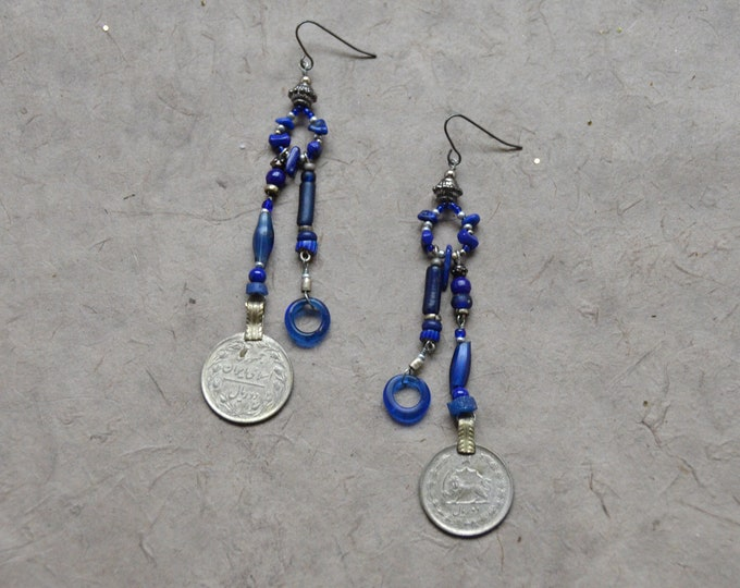 Free Spirit Earrings, Chakra 6