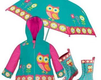 906f8841e Kids Rain Gear Boys Rain Jacket Boy rain Boots Robots