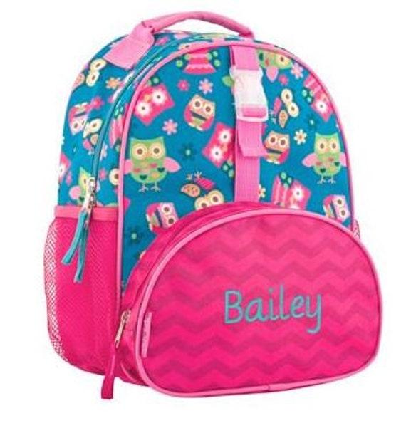 32ed38390b35 Owl BackPack, Backpack for 2-4 year olds, Stephen Joseph, Baby  Backpack,Kids Backpacks, Personalized Backpacks, Childrens Backpack