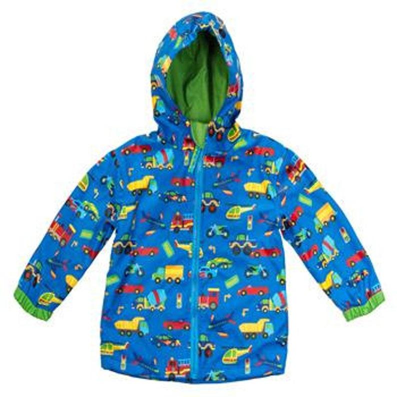 574a52713 Little boys Rain Jacket