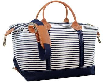 Weekender, Monogrammed Weekender, Canvas Bag, Monogrammed Travel Bag, Bridesmaid gifts, Bridal Party Gifts, Carry On, Luggage, Duffle Bag
