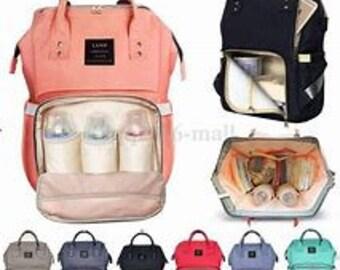 Monogrammed Diaper Bag, Diaper Backpack , Mommy Bag, Backpack Diaper Bag, Personalized Diaper Bag, Backpack, Diaper Bag, Baby Backpack