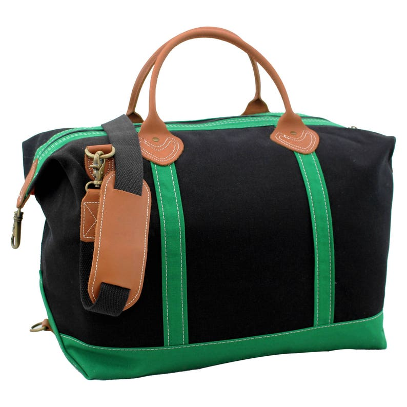 5ec17acf2ca3 Monogrammed Duffle Bag Personalized Travel bag Canvas Duffle